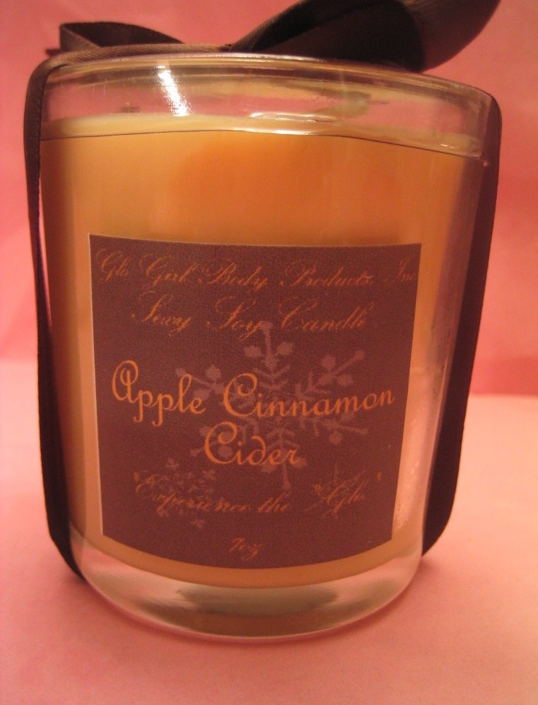 Cinnamon Apple Cider Soy Candle 7 oz