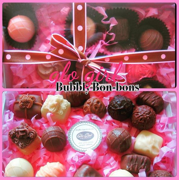 Bubbly Box of Bon Bons 12 Pcs