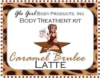 Caramel Brulee Latte Treatment Kit - 4 step