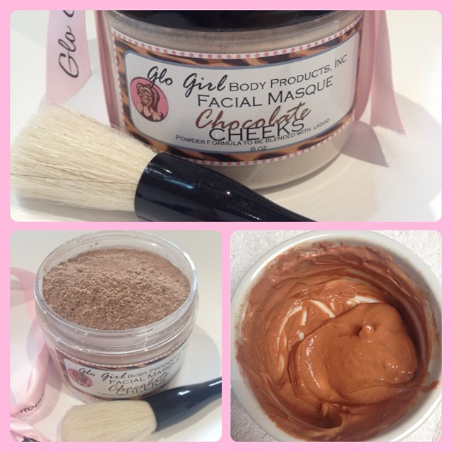 Chocolate Cheeks Facial Masque (Powder Blend)