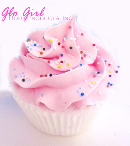 Pink Bubblegum Cupcake - Bubble Bombs