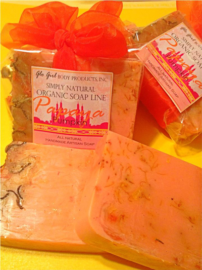 Papaya Pumpkin Soap