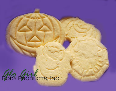Halloween Homemade Cookie Soap 4 pcs