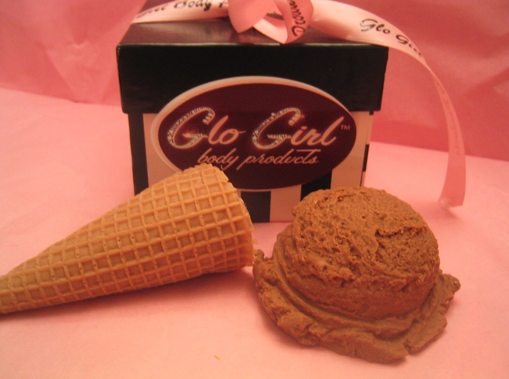 Ice Cream Soap Set 2 pcs (Sugar Cone)