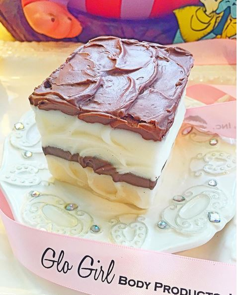 Frosted Cake Slice Soap - Large 7.5 oz