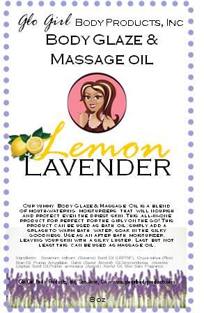 Body Glaze & Massage Oil