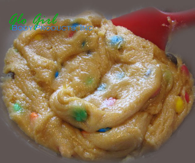 Sugar Cookie Dough with Sprinkled Rainbow