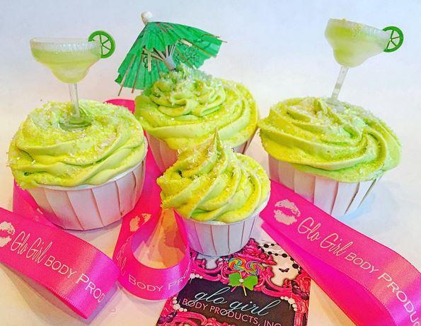 Lime Margarita Bubbling Bath Cupcake