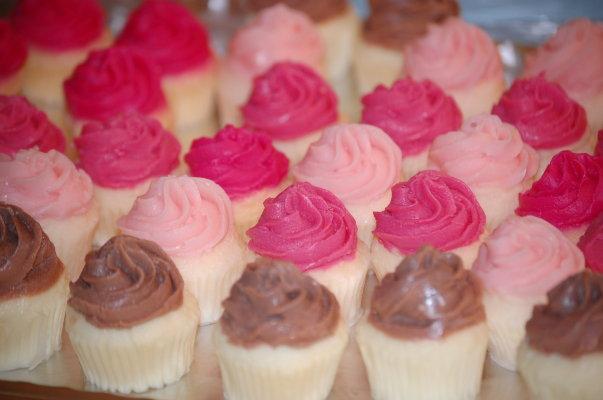 Mini Swirl Cupcake Soap - Set of 9
