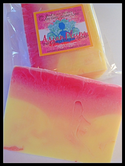 Asian Plum - Beer Infused Soap