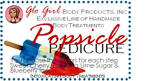 Popsicle Pedicure Treatment Kit - 3 Steps