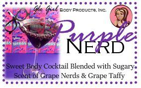 Purple Nerd Cocktail Treatment