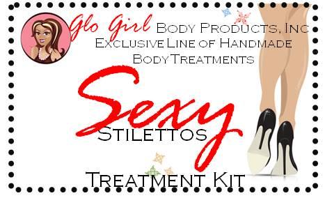 Sexy Black Stilettos - Treatment Kit