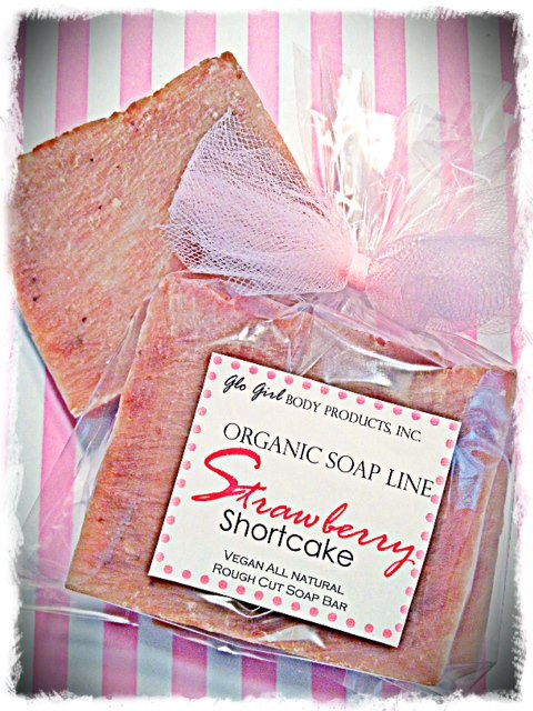 Strawberry Shortcake Soap (Vegan)