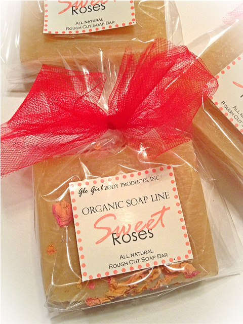 Sweet Rose Soap (All Natural)