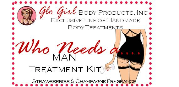 Who needs a Man?  (Strawberries & Champagne Kit) 4 - Steps