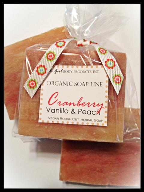 Cranberry, Vanilla & Peach (Vegan)