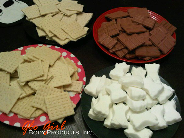 Halloween Smores Set 4 pcs