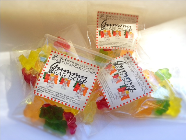 Gummy Bear Soap Treats 12 pcs