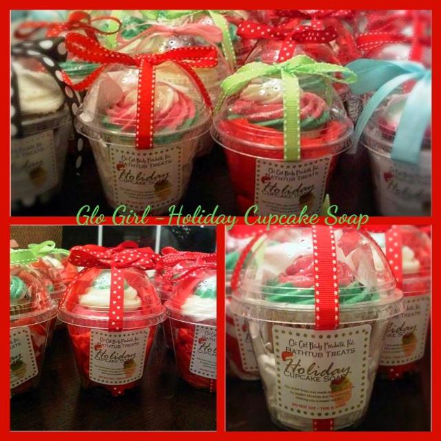 Holiday Cupcake Soap - 8.5 oz