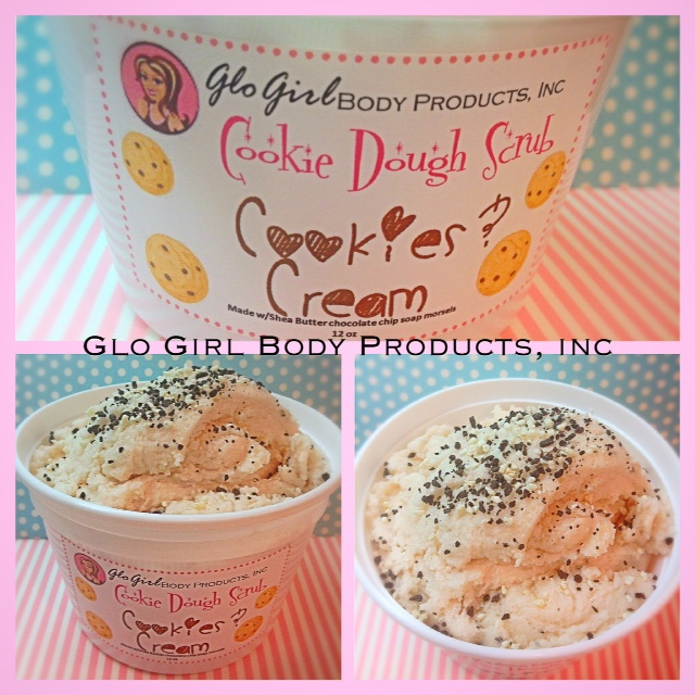 Cookies and Cream Cookie Dough Scrub