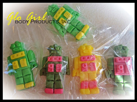 Robot Soap - Set of 3